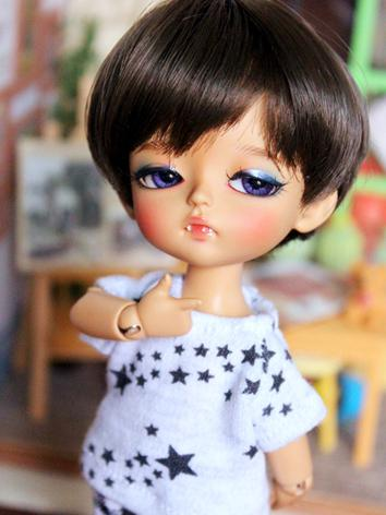 BJD Clothes Boy/Girl Printed T-shirt Top for YOSD 1/8 Ball jointed Doll