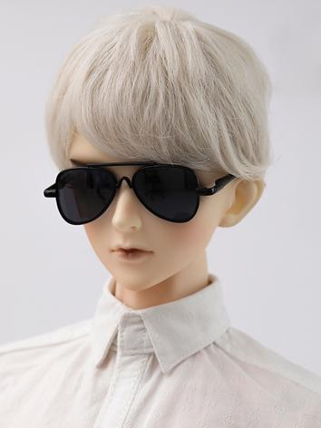 1/3 Youth black frame grey sun glasses JE317081 for SD/70cm Ball-jointed doll