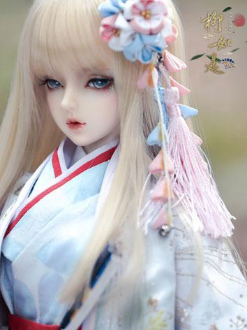 (AS Agency)Limited Edition BJD LiuRushi Ver 2 Girl 62cm Ball-Jointed Doll