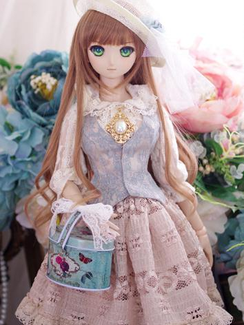 BJD Clothes DD/SD10/SD13 size Girl Summer Dress Suit [Fairy Lady] Ball-jointed Doll