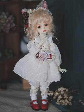 1/6 Clothes Girl White Suit for YSD Ball-jointed Doll
