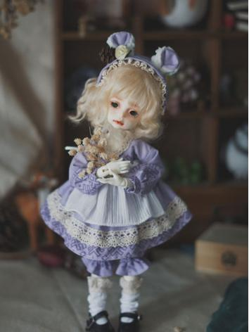 1/6 Clothes Girl Purple Suit for YSD Ball-jointed Doll