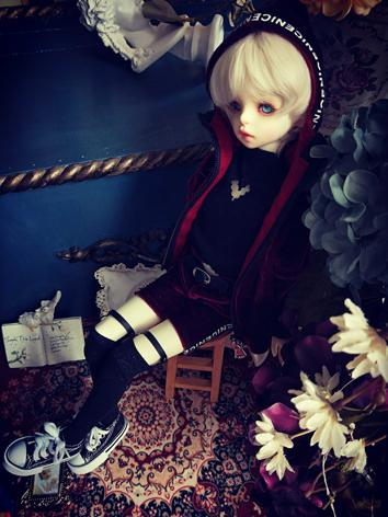 BJD Clothes Girl/Boy Wine Suit for SD/MSD/YSD Ball-jointed Doll
