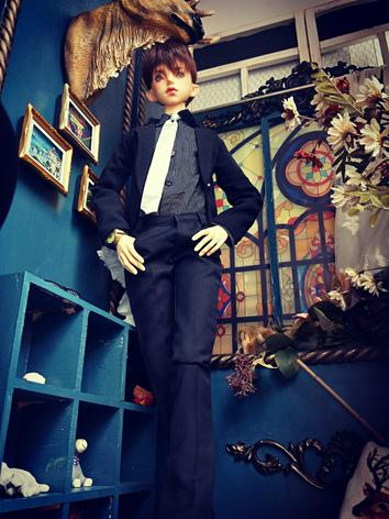BJD Clothes Boy Black Suit ...