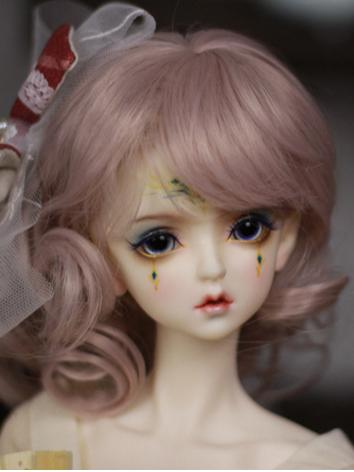 1/3 Wig Girl Pink/Light Gol...