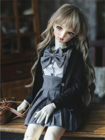 BJD Clothes Girl School Sui...