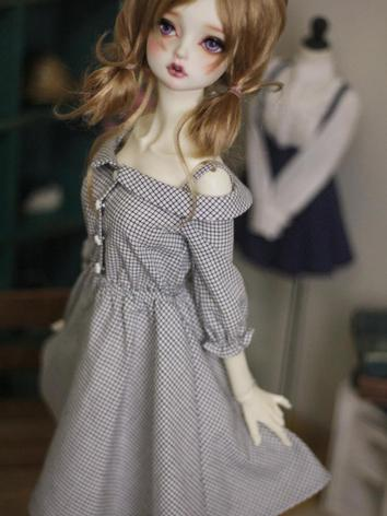 BJD Clothes Girl Gird Dress...
