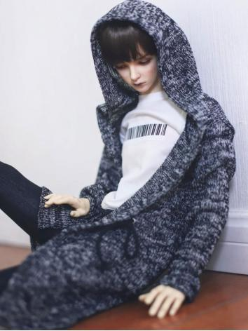 SD17 Boy Clothes Long Cardigan Coat for SD17/70cm Ball-jointed Doll