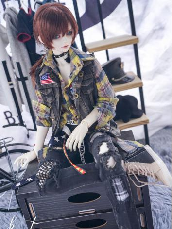 BJD Clothes Boy Sreet Suit for 70cm/SD17/SD/MSD Ball-jointed Doll