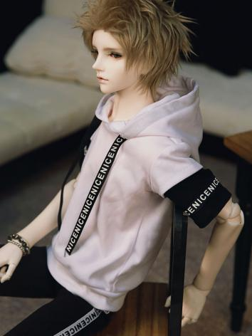 BJD Clothes Boy White T-shirt for SD/70cm/MSD Ball-jointed Doll