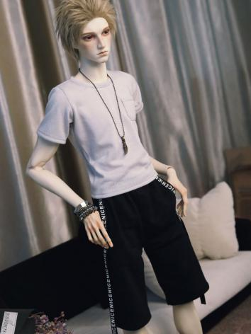 BJD Clothes Boy Black Short...