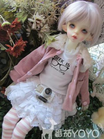 BJD Clothes Girl Pink Suit ...