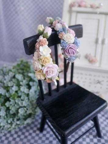 BJD Hair Decoration Hairpin Flowers Hairband Stick for SD/MSD/YOSD Ball-jointed doll