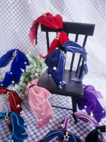 BJD Hair Decoration Hairpin Bow Hairband Stick for SD/MSD/YOSD Ball-jointed doll