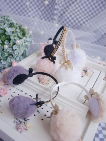 BJD Hair Decoration Earmuff...