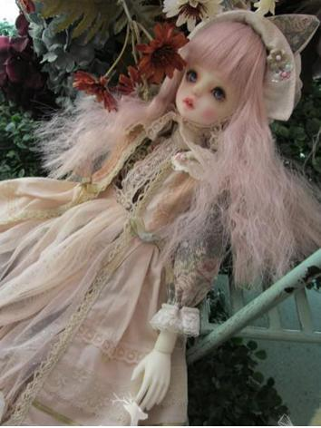 BJD Clothes Girl Light Pink...
