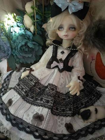 BJD Clothes Girl Black&Whit...