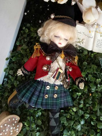 BJD Clothes Girl/Boy Soldie...