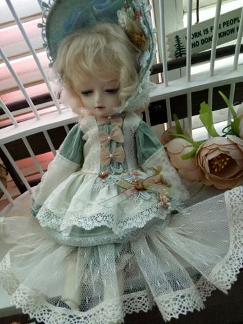 BJD Clothes Girl Mint Dress...
