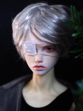 BJD Wig Boy Curly Hair for ...