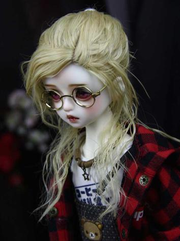 BJD Wig Girl/Boy Yellow Hai...