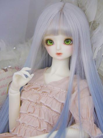 BJD Wig Girl Gradiente Blue...