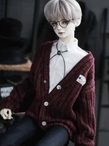 BJD SD17 Boy Clothes Pink/W...