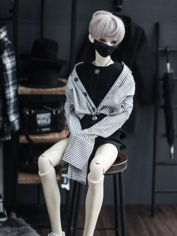 BJD SD17 Boy Clothes Stripe...