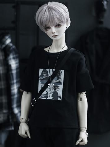 BJD SD17 Boy Clothes Black ...