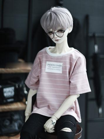 BJD SD17 Boy Clothes Pink T...
