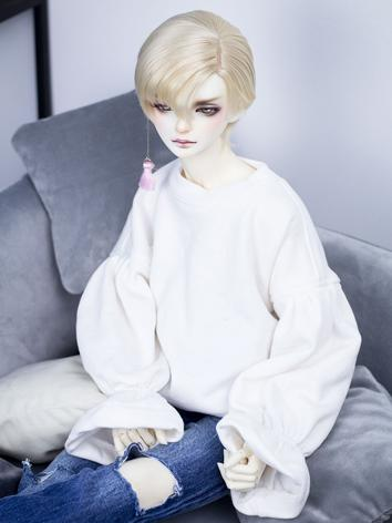 BJD Clothes Boy White/Black...