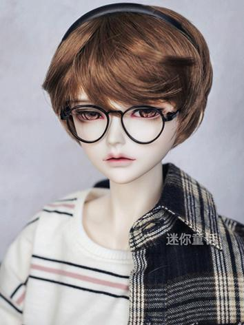 BJD Wig Boy Light Gold/Gold/Chocolate Short Hair 1/3 1/4 1/6 Wig for SD/MSD/YSD Size Ball-jointed Doll