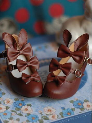 1/3 Girl Brown/White/Pink/Blue Shoes for SD Ball-jointed Doll