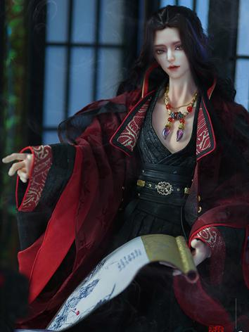 Bjd Clothes 74+ Male Ancient Chinese Clothes Fullset - Yu CL1180601 for 70cm+ Ball-jointed Doll