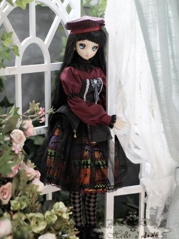 BJD White Foldin Screen for SD size Ball-jointed Doll