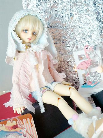 BJD Clothes Girl Sweet Pink...