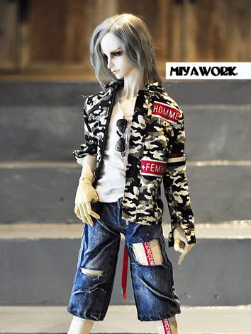 BJD Clothes Boy Casual Suit...