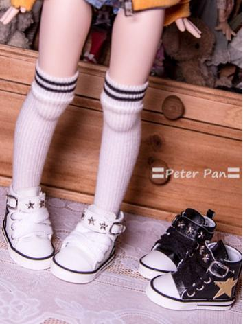 Bjd Girl/Boy Shoes White/Pi...
