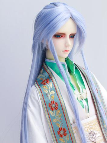 BJD Wig 1/3 Male Blue Ancie...
