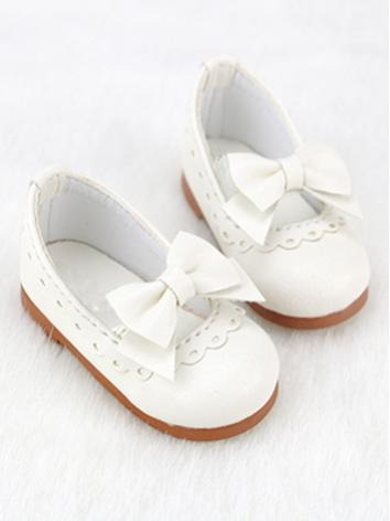 BJD Shoes Girl White/Wine/P...