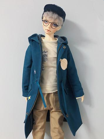 BJD Clothes Boy Blue Casual...