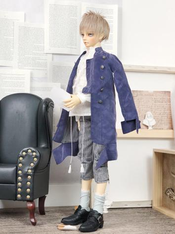 BJD Clothes Boy Purple Suit...