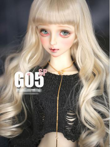 1/3 Wig Girl Wig Gold Long ...