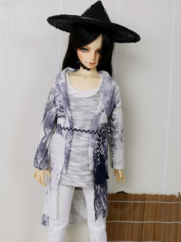 BJD Clothes Boy Black Leisu...