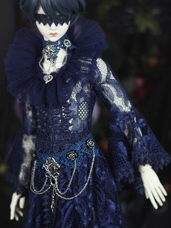 Bjd Clothes Blue Lace Suit ...