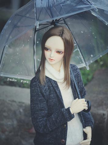 BJD Clear Vinyl Umbrella for SD/70cm Ball-jointed doll