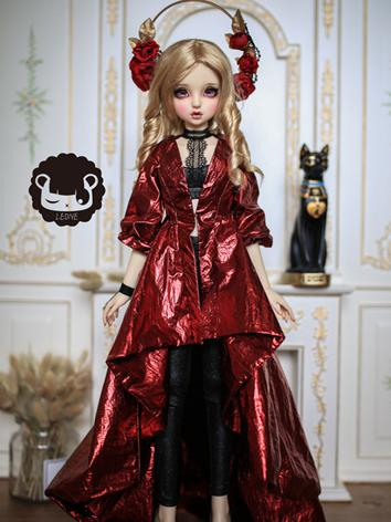 BJD Clothes Girl Black/Gold...