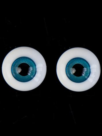BJD Eyes 16mm simulate pupil ocean-blue eye EY16132 for BJD (Ball-jointed Doll)