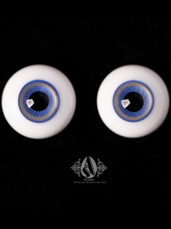 BJD Eyes 18MM Ice-blue eyeb...