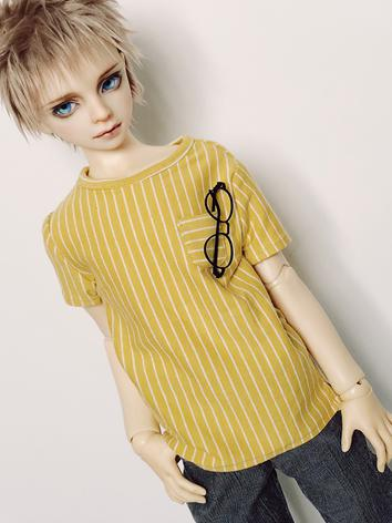 BJD Clothes Boy Yellow TEE ...